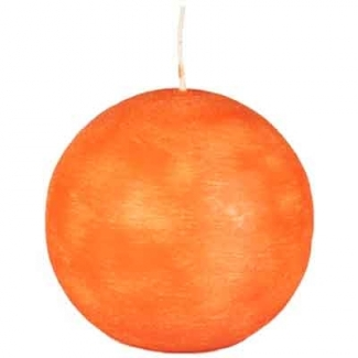 Bougie Boule Orange PAP STAR