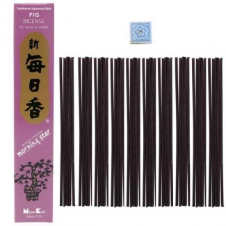 Encens Morning Star Nippon Kodo Figue x50 - Encens Japonais