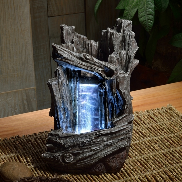 fontaine nature chute d 39 eau. Black Bedroom Furniture Sets. Home Design Ideas