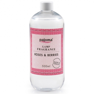 Parfum pour lampe catalytique 500 ml Rose-Fruits Rouges