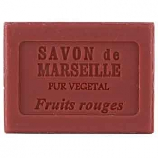 Savon de Marseille Fruits Rouges Plantes et Parfums