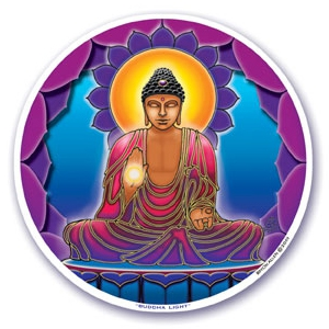 Sticker Buddha Light
