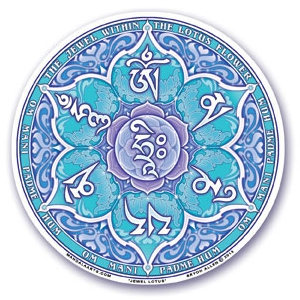 Sticker Jewel Lotus